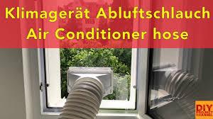Klimaanlage Abluftschlauch Klimagerät Fensterdurchführung Diy Airlock Air Conditioner Hose Hot Air