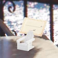 miniature adirondack chair place card photo frame