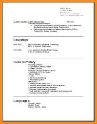 curriculum vitae in usa 8 curriculum vitae usa template odr2017