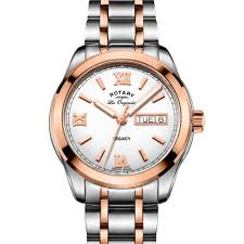 rotary legacy men s rose gold day date swiss watch gb90175 06 rotary legacy men s rose gold day date swiss watch gb90175 06