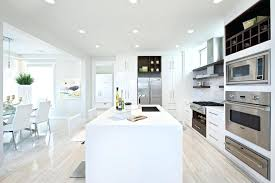 white wash wood tile modern kitchen design with white washed wood floors idea with white island and cabinetry ans modern whitewashed wood wall tile