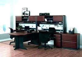 Home office desks for two Double Two Person Workstation Desk Two Person Computer Desks Fantasy Home Office Desk For In Addition With Workstation Designs Person Workstation Furniture Thesynergistsorg Two Person Workstation Desk Two Person Computer Desks Fantasy Home