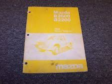 1988 mazda b2600 b2200 pickup truck original electrical wiring diagram manual