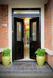 front doors with windows that