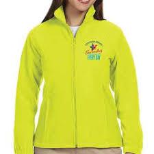 Harriton Size Chart Customer Service Harriton Womens Full Zip Fleece Jacket Personalization Available