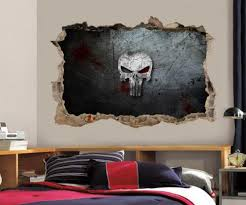 home décor items the punisher skull
