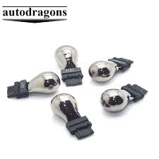 Stealth Light Bulbs Us 12 37 2pcs High Quality 3157 4157 Chrome Stealth Silver Amber White Light Bulbs Turn Signal In Signal Lamp From Automobiles Motorcycles On