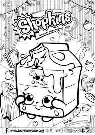 Shopkins Coloring Pages To Print Free At Getdrawingscom Free For