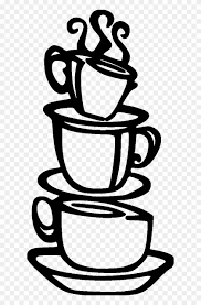 Coffee cup isolated icon vector illustration design. Coffee Cups Stacked2 File Size Stacked Coffee Cups Black And White Png Clipart 3896716 Pikpng