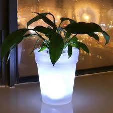 Flower Pot Light New Flower Vase Led Pot Light Up Plant Pot Illuminated