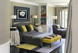 Blue And Grey Bedroom Gray With Dark Furniture Soft Paint Color