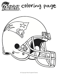 Small Picture Here are is a printable Patriots football coloring sheets for kids