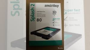 <b>Твердотельный накопитель SmartBuy</b> Splash 2 80 GB купить в ...
