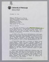 U Pitt Letter Of Recommendation Magdalene Project Org