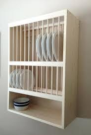 wood plate rack wood dish rack ikea