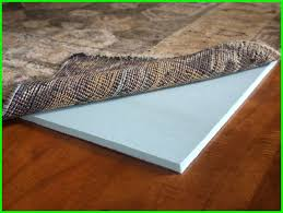 cloud comfort memory foam rug pad rug pad size rectangle 4 x 6