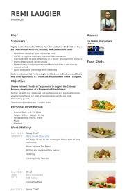 Chef Resume Samples Techtrontechnologies Com