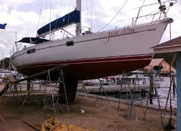 1994 beneteau moorings 445 sail boat for yachtworld com