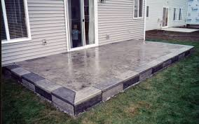 High Quality Patio Material 5 Concrete Patio Design Ideas Concrete