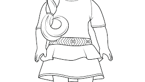 American Doll Coloring Pages Girl Grace Coloring Page Free Printable