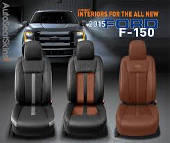 katzkin design 2016 ford f150 leather interiors