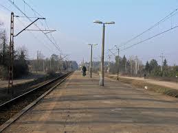 Ustanówek railway station