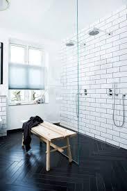 modern bathroom white tile.  Modern View In Gallery Subwayblackandwhitetilebathroomideajpg Intended Modern Bathroom White Tile E