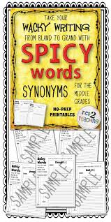 17 best ideas about essential synonym synonym for 0 no prep printables to keep them writing a smile learning synonyms through