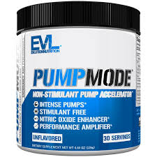 <b>PumpMode</b> - UNFLAVORED (4.44 Ounces Powder) by Evlution ...