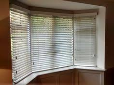 bay window blinds. Wood Venetian Blinds For A Bay Window, Supplied And Installed By The Blind Shop. Window B