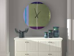 East Urban Home Oversized Rosalyn Wall Clock | Wayfair