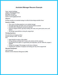Nice Store Assistant Manager Resume That Can Bag You Resume