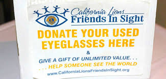 lions club asks residents to donate their unwanted gles
