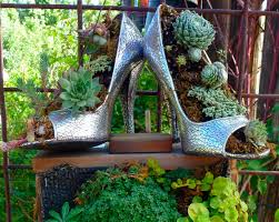 High Heels as Plant Containers www.fiskars.com