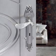 door handle br traditional chrome art nouveau franca c09410 by omp porro