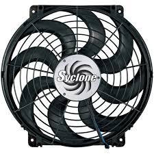 flex a lite automotive inch syclone s blade reversible electric fan 16 inch syclone s blade reversible electric fan
