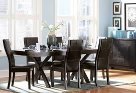modern dining room table and chairs for awesome rustic dining room table set