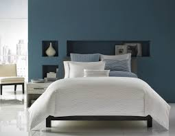 Gray And Blue Bedroom  Contemporary  Bedroom  Domino MagazineGray And Blue Bedroom