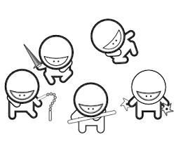 ninja clipart black and white. Brilliant And Ninja Clipart Black And White  ClipartFest And Clipart Black White R