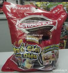 Bánh lan đen Choco PnN Phạm Nguyên (bịch 12 cái)