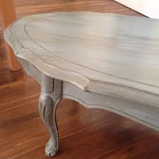 Coffee Table Painting French Provincial Coffee Table Painted Blue Grey Chalk Paint
