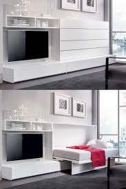 IQ System B by Erba Italia is a modern murphy bed that opens with ...