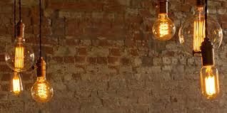 lighting for the home. retro lighting with oldfashioned filaments for the home