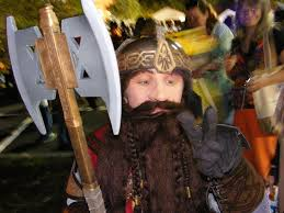 picture of gimli the dwarf lord of the rings costume