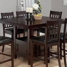 9 piece dark solid wood counter height pub set table chair dining kitchen room ebay pub dining table c2