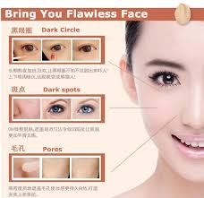 flawless face blemish cover up liquid concealer smooth creamy hide dark spots acne scars redness makeup base in concealer from beauty health on