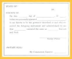 Notary Public Template Notary Public Signature Line Template Sample Sample Notary Public