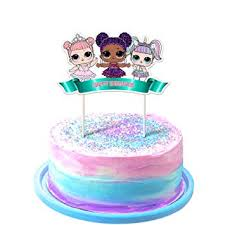 Lol Cake Topper 1st Birthday Toppers Cute Girls Dolls Bday