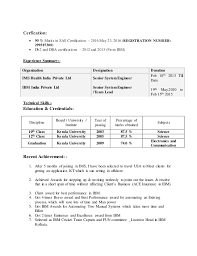 Statistical Programmer Sample Resume Best Resume SAS Programmer 48 Years Exp