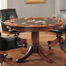 hilale furniture park view game table this dining tables from hilale furniture es in a um brown oak finish